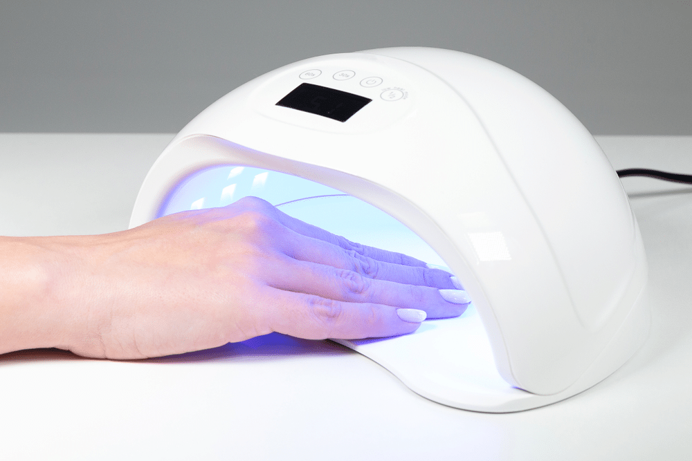 lampara led para uñas de gel